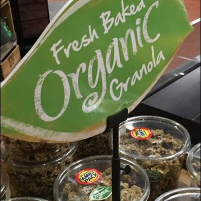 Wegmans Organic Table-Top Sign Clip 2