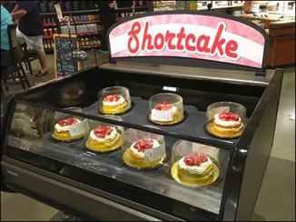 Wegmans Shortcake In A Short Cooler Case 1