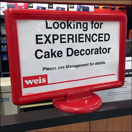 Weis Hiring Experienced Cake Decorator Now Feature