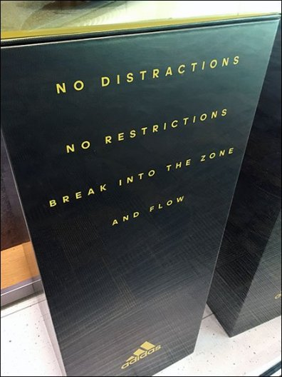 Adida No Distractions No Restrictions Display 3