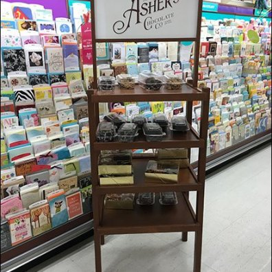 Asher's Cocolate Co Display Rack 2