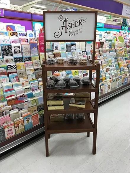 Asher's Cocolate Co Display Rack 2