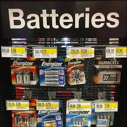 Battery Store Fixtures & Battery Merchandising