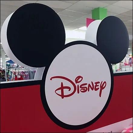 Disney Retail Fixtures