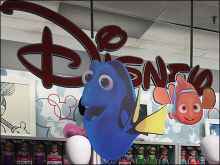 Disney Dory JCPenney Display Main