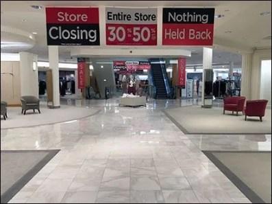 Macys Store Closing Horizontal Signs 1