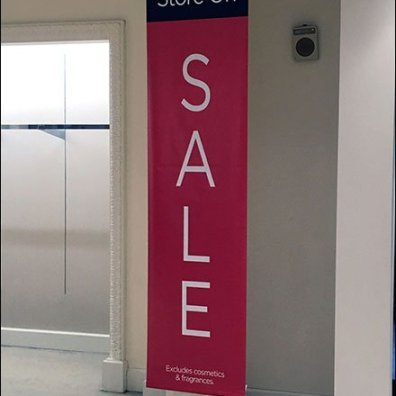 Macys Store Closing Vertical Signs 2