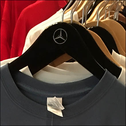 Mercedes Benz Manhattan Branded Clothes Hanger