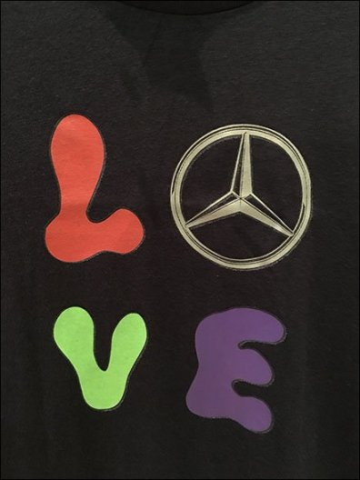 Mercedes Benz Manhattan Branded Kids T-Shirt 3