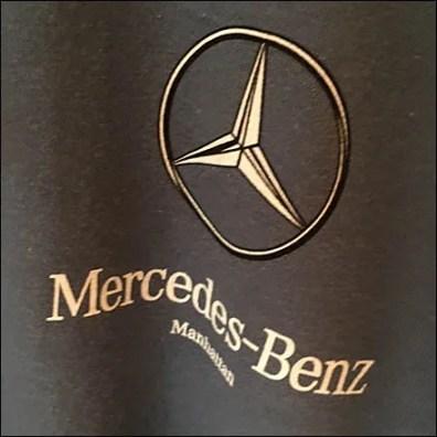Crowd Control At A Mercedes Benz Tent Sale Fixtures Close Up