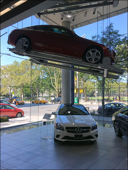 Mercedes Benz Manhattan ParkPlus Red Main