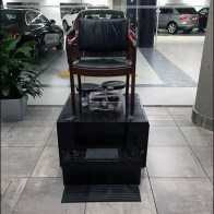 Mercedes Benz Manhattan Shoeshine Station 1
