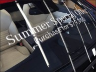 Go Topless With Mercedes-Benz Window Cling