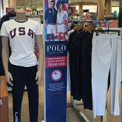 Polo Summer Olympics Apparel Signage 1