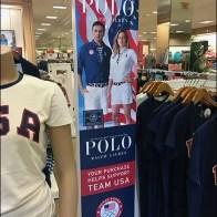 Polo Summer Olympics Apparel Signage 2