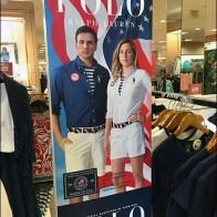 Polo Summer Olympics Apparel Signage 3