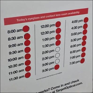 Schedule Youe Eye Exam At The Door Feature