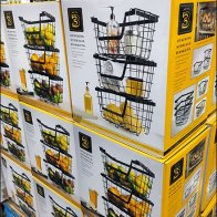 Wire Basket Merchandising Prop
