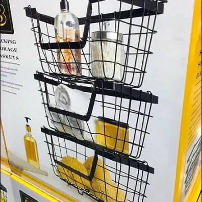 Wire Basket Pallet Merchandising 3