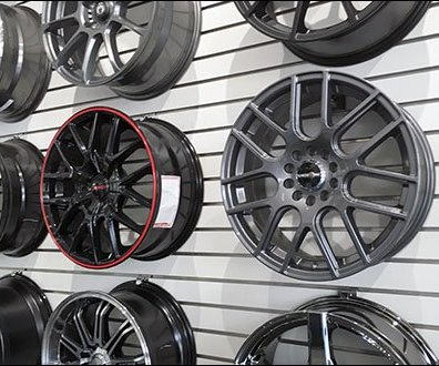 Automotive Custom Wheel Rim Slatwall Hook