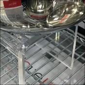 Cookware Acrylic Flyover Pedestals for Belgique and Circulon