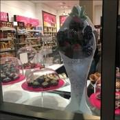 Godiva Berry Cone Foamcore Dimensional Display