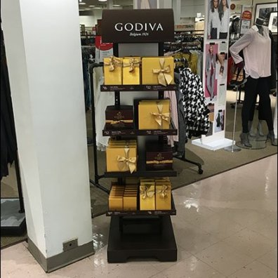 Godiva Chocolates Fields Big Sales in Small Footprint