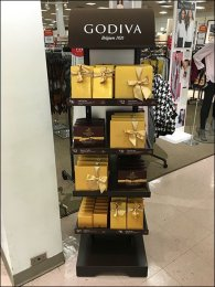 Godiva Chocolates Fields Big Sales in Small Footprint