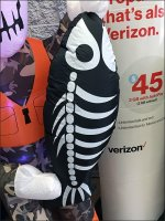 Halloween Fisherman Inflatable Markets To Local Demographic