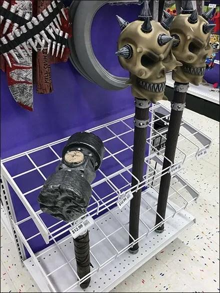 Halloween Mace Endcap Grid Divider 2