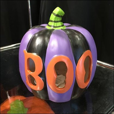 Halloween Pumpkin Boo Small