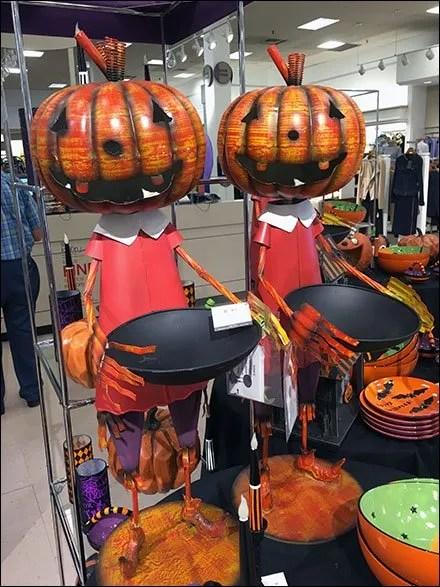 Pumpkin Head Twins Beg Halloween Treats