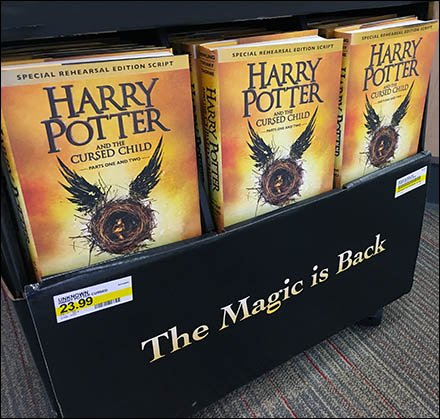 Harry Potter Trapezoid Display Goes Mobile