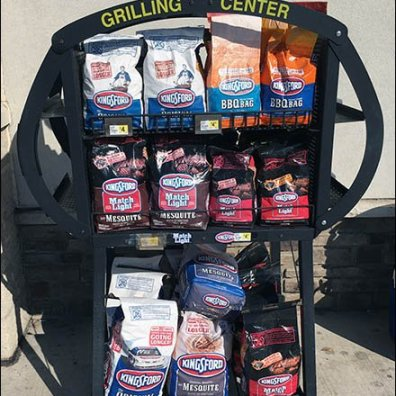 Kingsford Labor Day Weekend Sidewalk Grilling Center