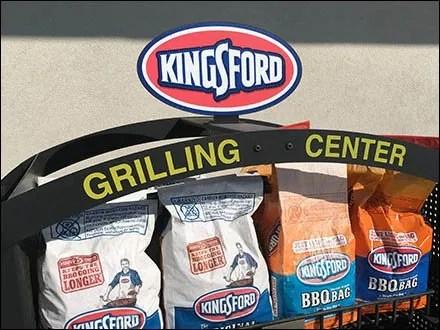 Kingsford Labor Day Weekend Sidewalk Grilling Center
