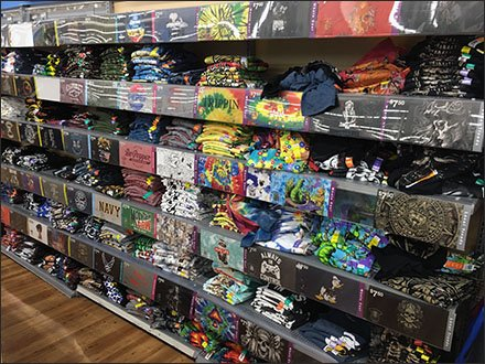 Massed T-Shirt Mass Merchandising