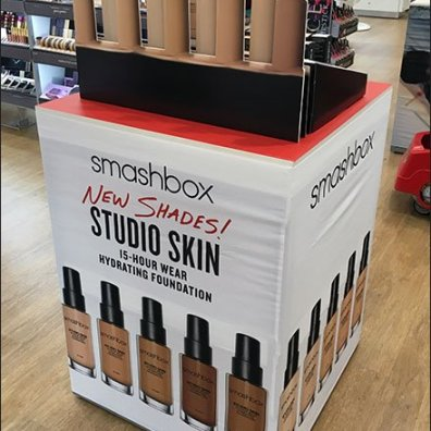Ultra Smashbox Flat Dimensional POP Display Aux