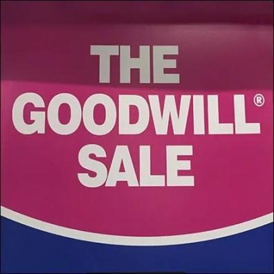 Bon Ton Goodwill Sale Display Logo