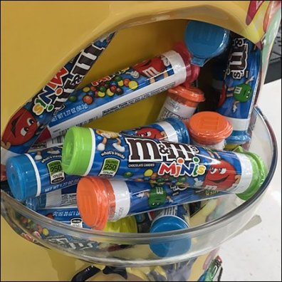 M&Ms Gravity Feed PowerWing With Catch Basin