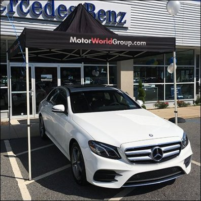 Mercedes Benz Tent Sale