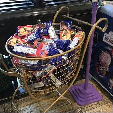 Ornate Cart for Gourmet Shopping Trips