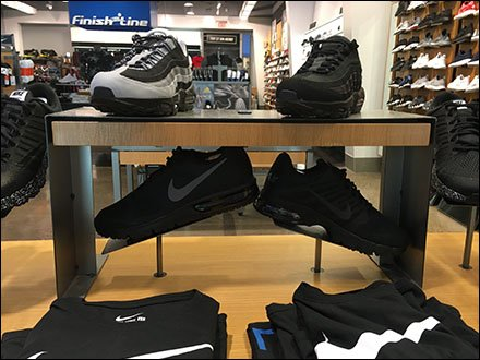 Nike Sneakers Table-Top Flyover Trestle