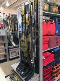 Bauer Hockey Stick Dividers In Open Wire