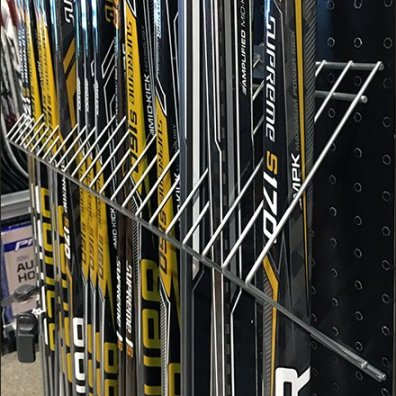 Bauer Hockey Stick Dividers In Open Wire