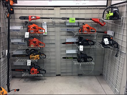 Grid-Outfitted Chain Saw Department
