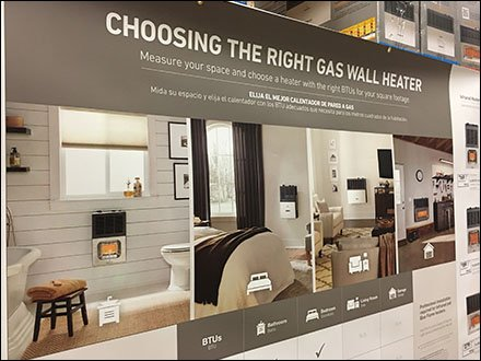 Gas Heater Selection Guide As Wall Poster