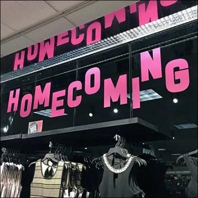 School Homecoming Merchandising