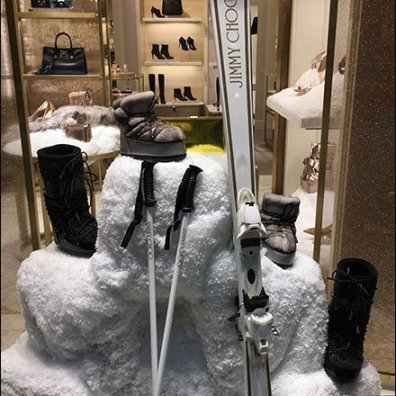 Jimmy Choo Licensed Ski Equipment