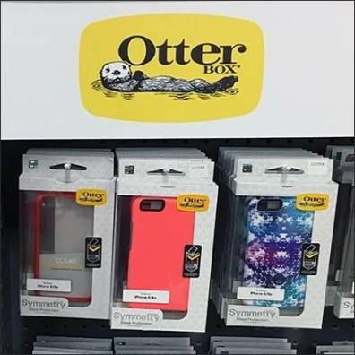 Otter Box Cell Phone Case Merchandising Kiosk