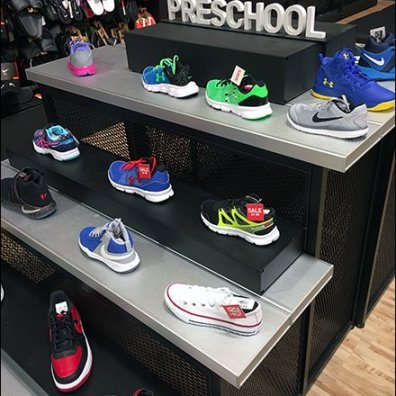 PreSchool Sneakers Merit A Dimensional Sign